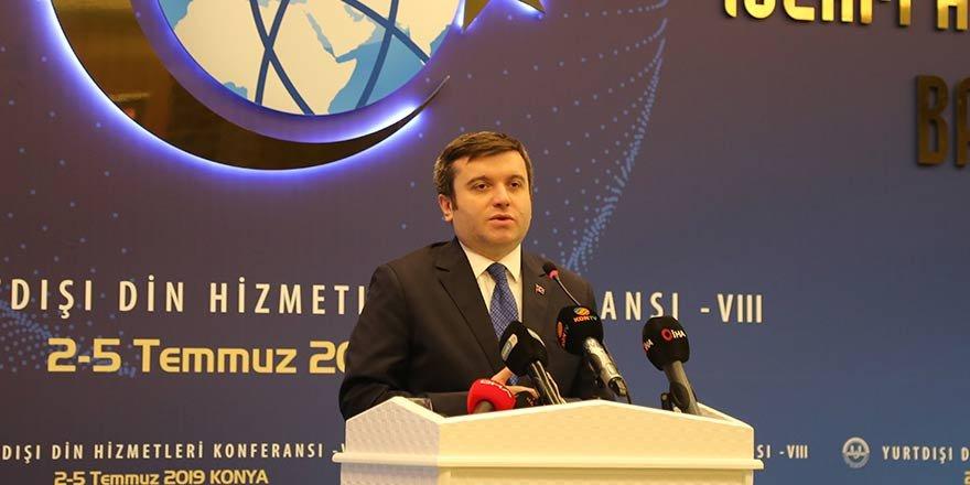 """Yavuz Selim Kıran: """"Yurt dışında din hizmetleri zorlu süreçlerden geçilerek yapılıyor"""""""