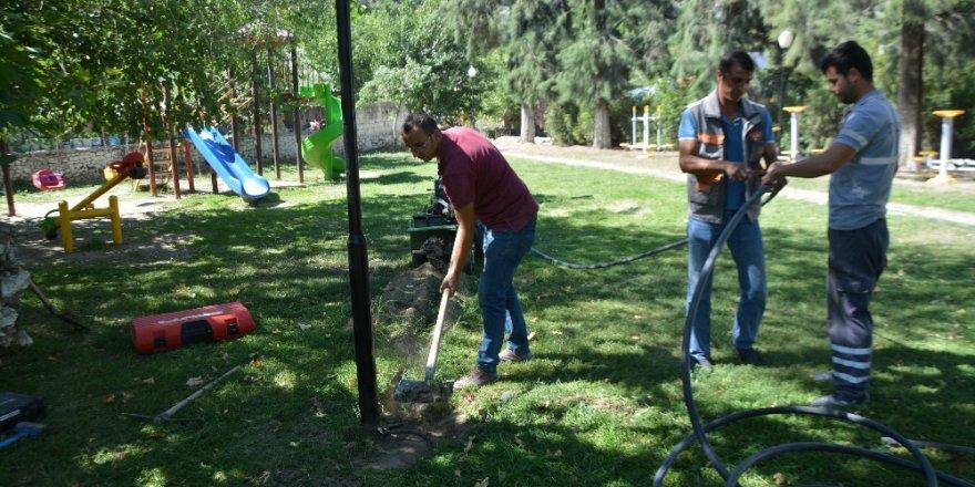 Söke Belediyesi, Bağarası Kemalpaşa Parkı'nı ayağa kaldırıyor