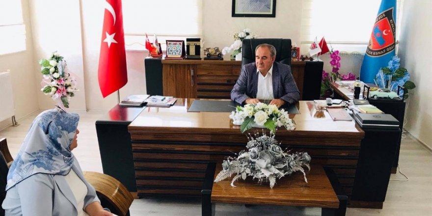Başkan Çetin'den iade-i ziyaret