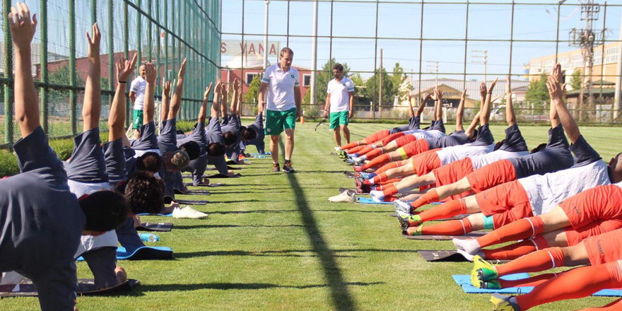 Konyaspor U19 takımı sezonu açtı