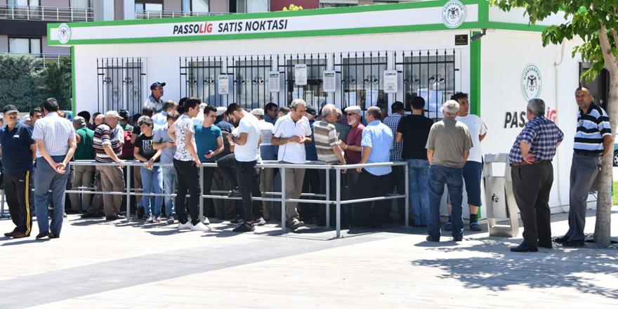 Konyaspor'un kombinelerden geliri 2 milyonu geçti