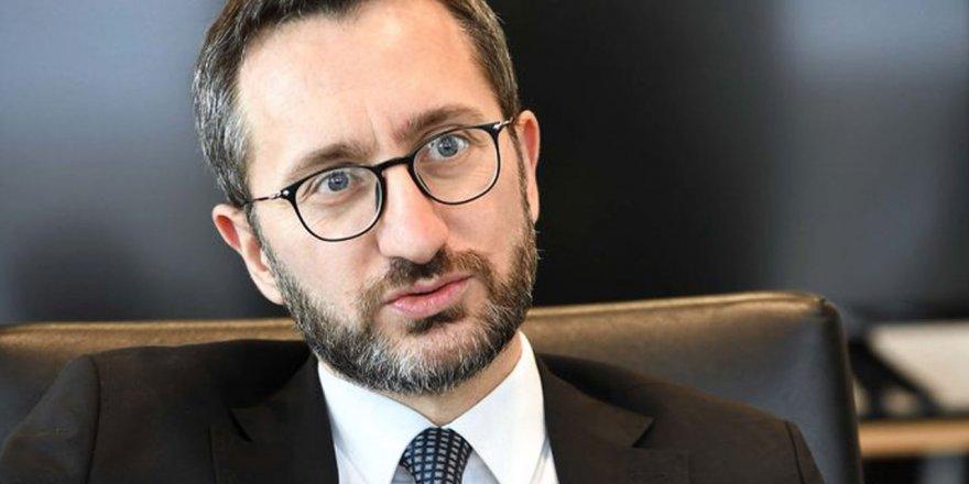 Fahrettin Altun: Kılıçdaroğlu yalan söylemiştir