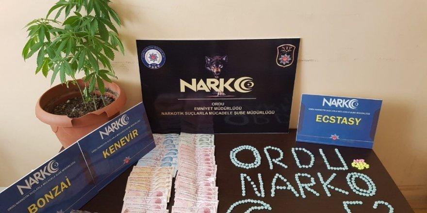 Ordu'da uyuşturucu operasyonu: 2 tutuklama