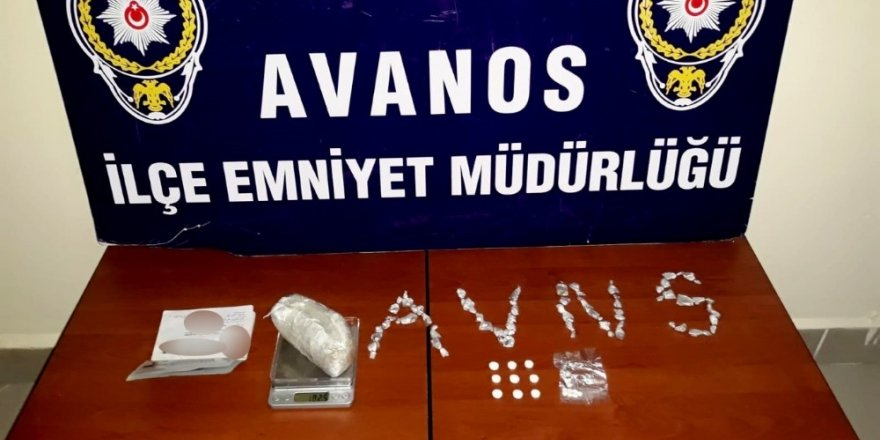 İç çamaşırında 43 paket uyuşturucu ile yakalandı