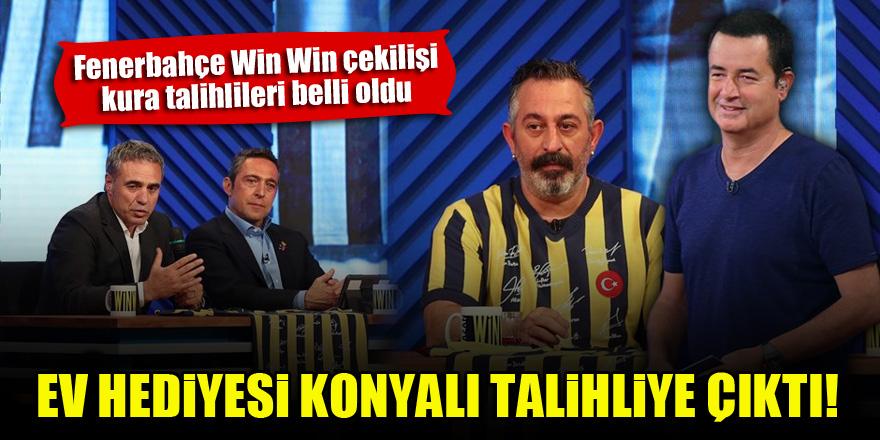 Fenerbahçe Win Win çekilişinde ev hediyesi Konya'ya geldi!