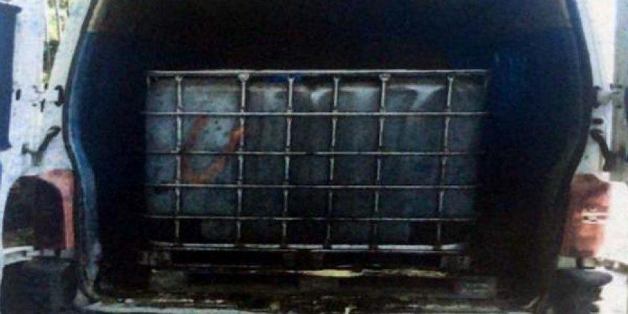 Ankara'da 3 ton kaçak akaryakıt ele geçirildi