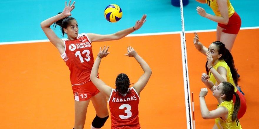 Türkiye, U19 Genç Kızlar Balkan Voleybol Şampiyonası'nda finalde