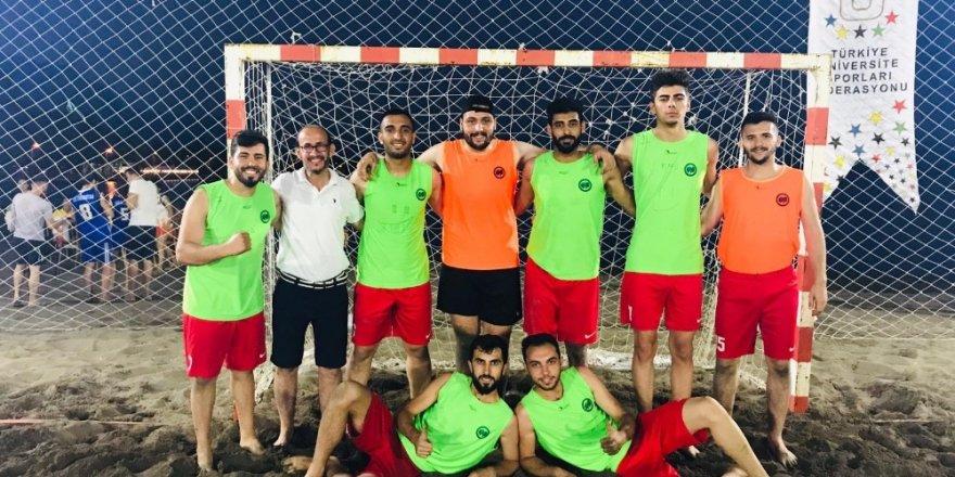 KMÜ erkek hentbol takımı Türkiye dördüncüsü oldu