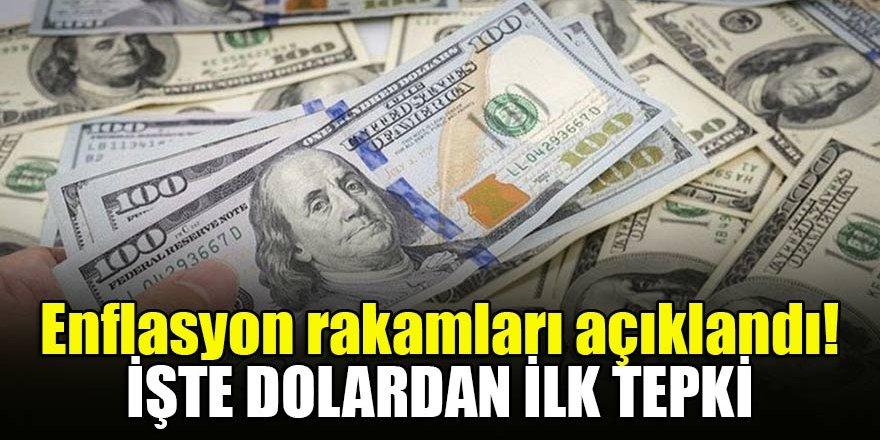 Enflasyon rakamları açıklandı! işte dolardan ilk tepki