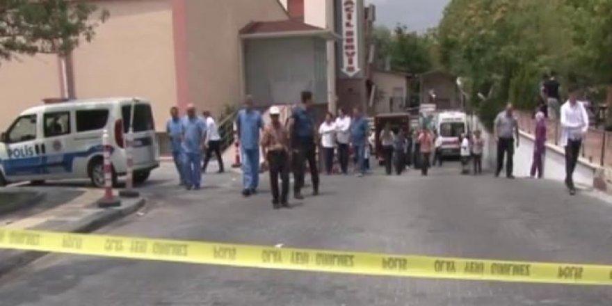 Ankara'da hastanede kimyasal madde korkusu