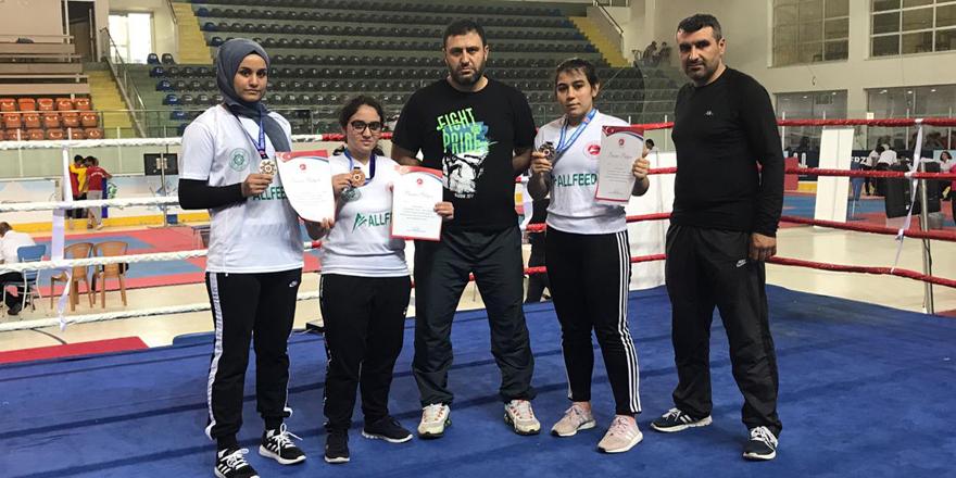 Türkiye Şampiyonasında Meram Belediyespor rüzgârı esti