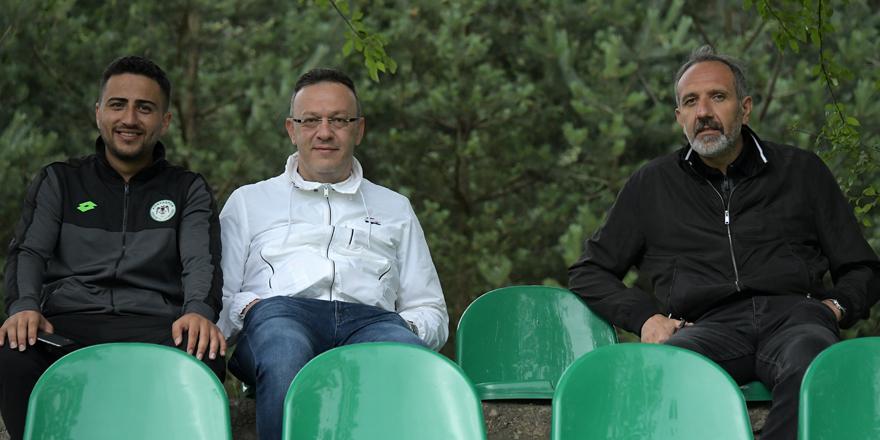 Konyasporlu yöneticiler Bolu'da