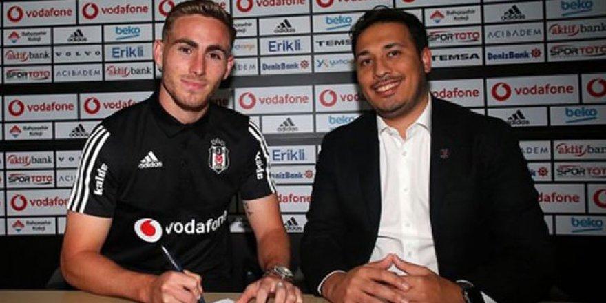 Beşiktaş transferi açıkladı! 4 yıllık sözleşme
