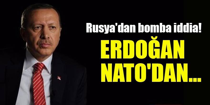 Rusya'dan bomba iddia! Erdoğan NATO'dan çıkmaya hazır