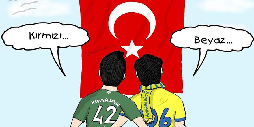 Konyaspor taraftarından Ankaragücü çağrısı