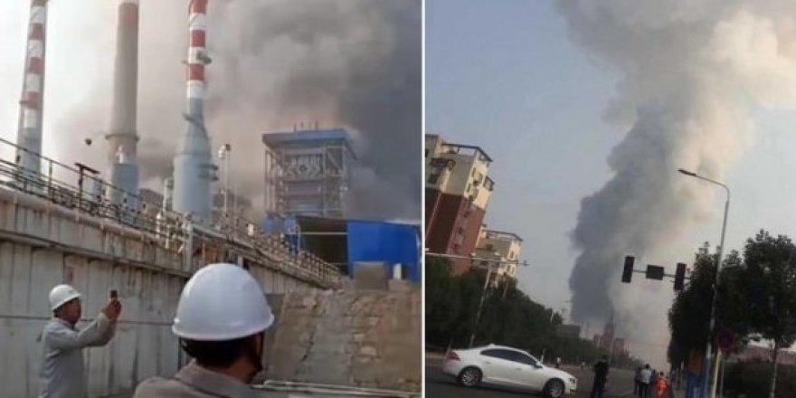 Çin'deki gaz patlaması: 10 ölü, 19 yaralı