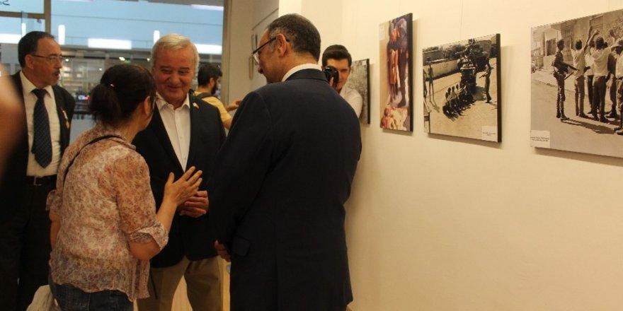 """Gazeteci Kurtar Çakın'ın objektifinden 45'inci Yılında Kıbrıs"""" sergisi"""