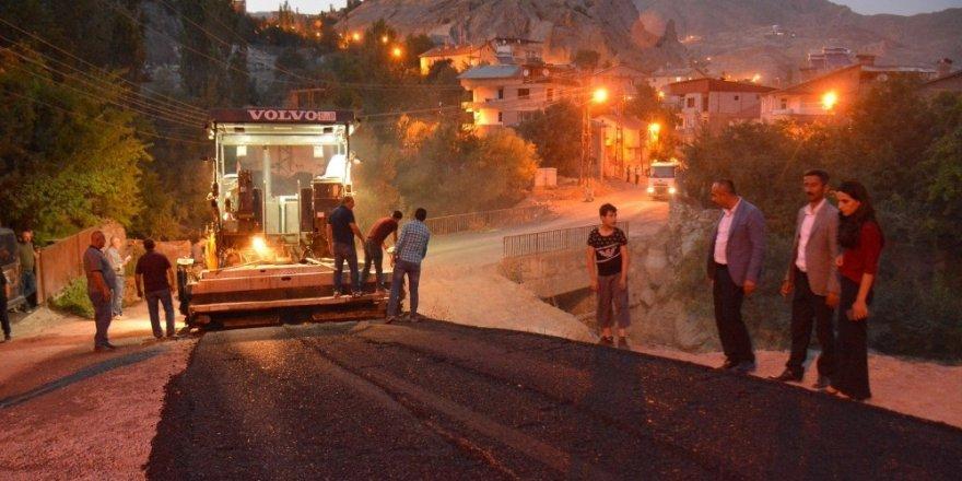 Bağlar Mahallesi asfalta kavuşuyor