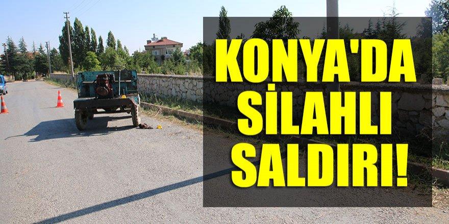 Konya'da silahlı saldırı!