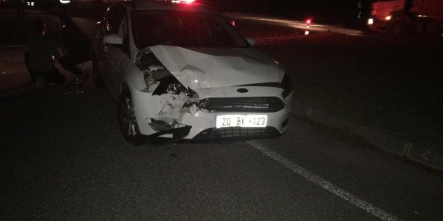 Bilecik'te trafik kazası, 1 yaralı