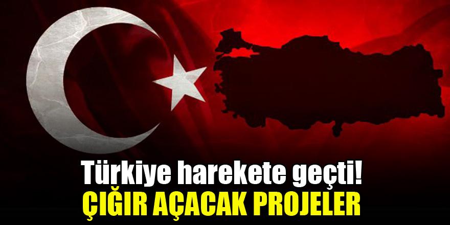 Türkiye harekete geçti! Çığır açacak projeler