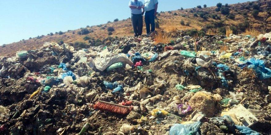 Kilis'teki Afrin çöplüğü temizleniyor