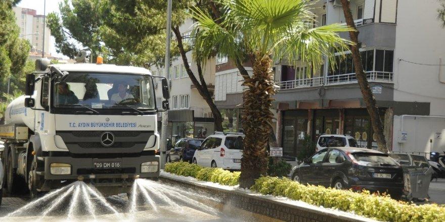 Büyükşehir'den Nazilli'de bayram temizliği