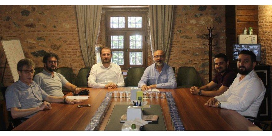 Vekil Kılıç NOSAB'lı sanayicilerle buluştu
