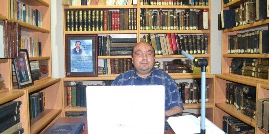 Görme engellilere yönelik bilgisayarlar üniversite kütüphanelerinde
