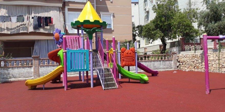 Kepez Belediyesinden çocuklara renkli park