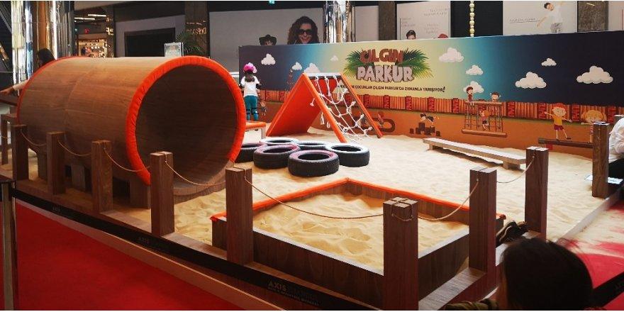 Çocuklar için 'Çılgın Parkur' başlıyor