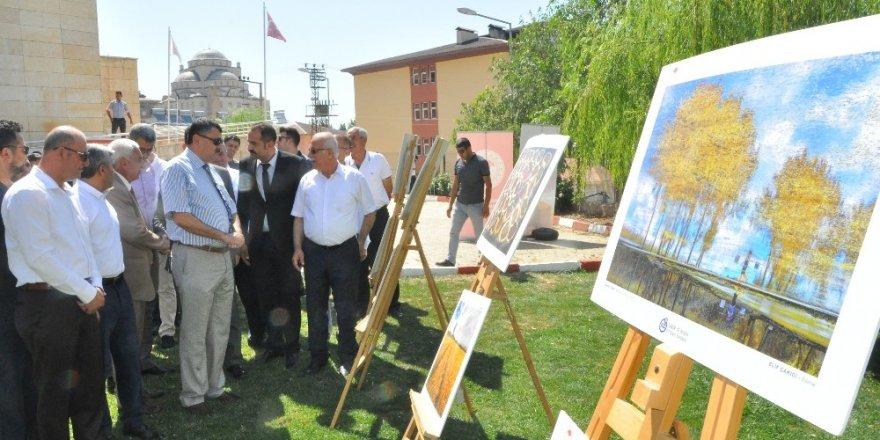 Şırnak'ta tarım ve insan sergisi açıldı