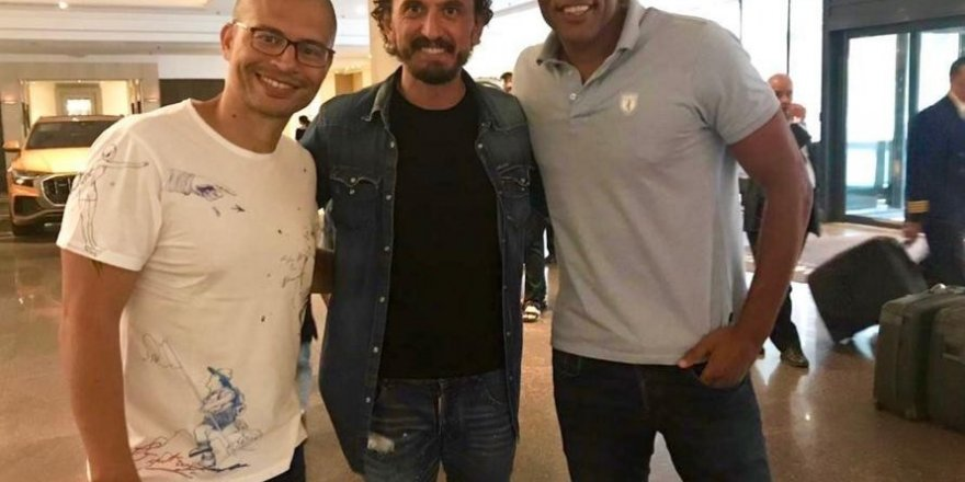 Alex de Souza, Almanya'da Fenerbahçe'yi yalnız bırakmadı