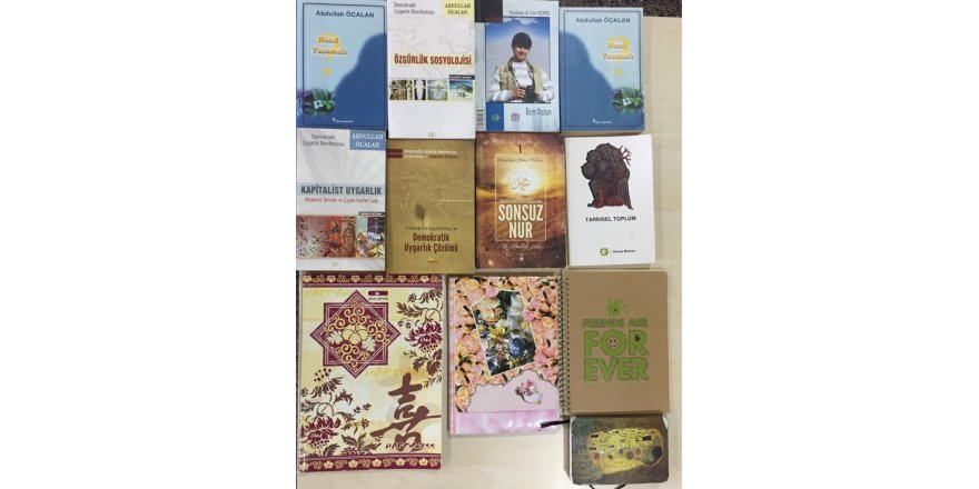 PKK'lı teröristin evinden FETÖ elebaşı Gülen'in toplatılan kitabı çıktı