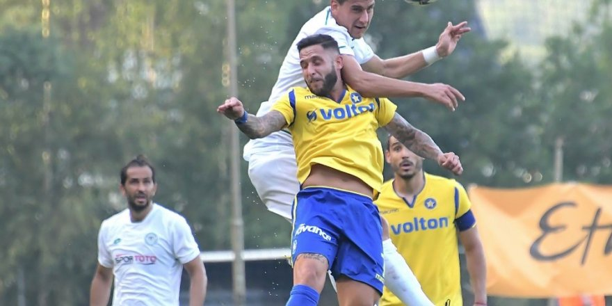 "Konyasporlu Jevtovic: ""Hedefimiz Avrupa kupalarına katılmak"""