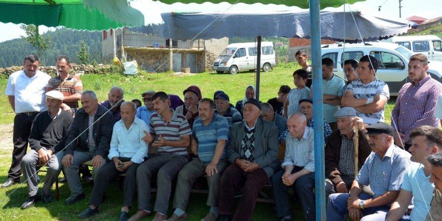Kabadüz'de halk toplantısı
