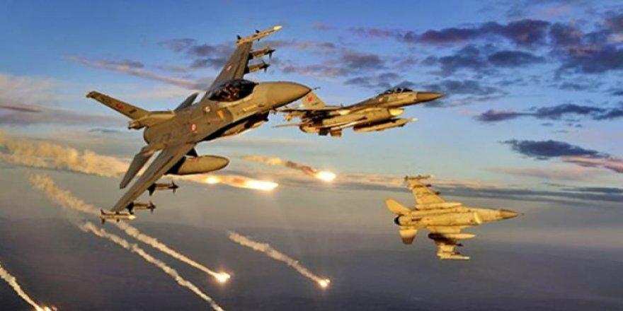 TSK, Kuzey Irak'ı vurdu! Birçok hedef imha edildi