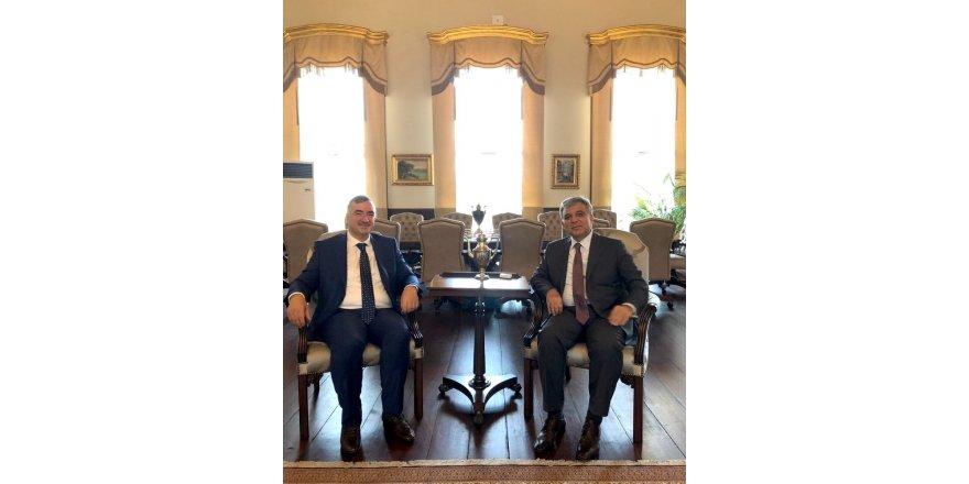 Başkan Turanlı 11. Cumhurbaşkanı Abdullah Gül ile bir araya geldi
