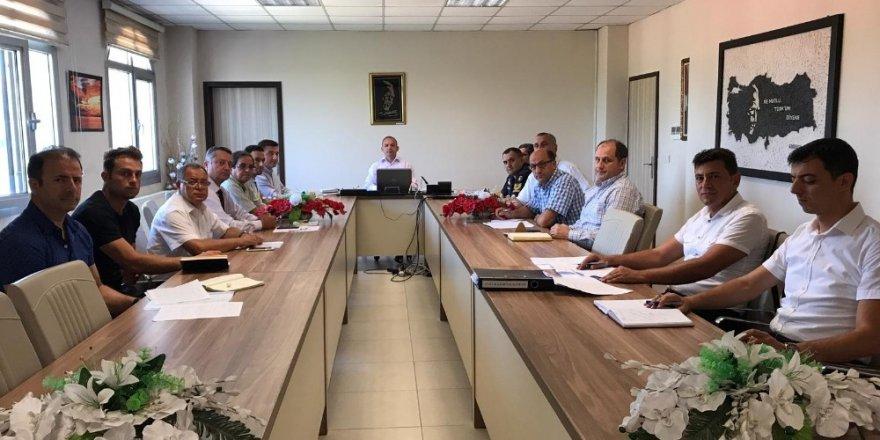 Burhaniye'de Çocuk Koruma Koordinasyon Kurulu Toplantısı