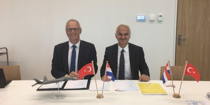 TUSAŞ ve Hollanda Havacılık Merkezi arasında işbirliği