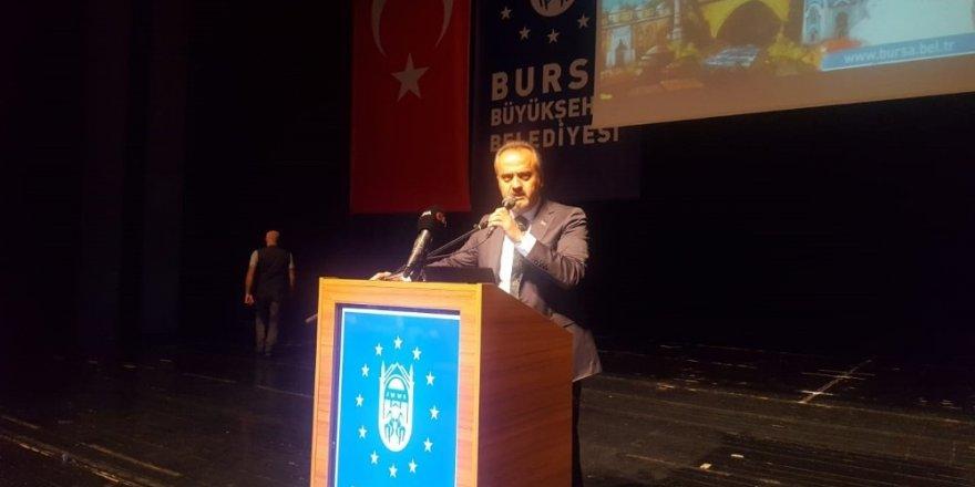 """Başkan Aktaş: """"Bursa'yı ortak akılla yöneteceğiz"""""""