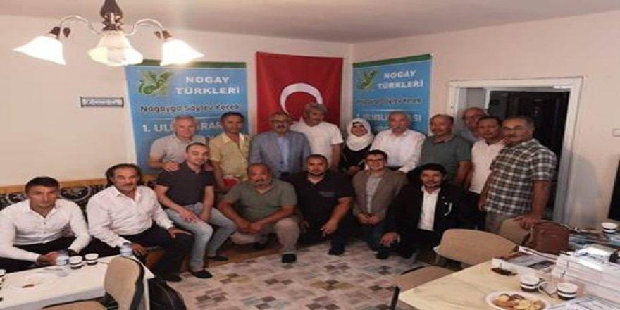 Uluslararası Nogay Türkleri Çalıştayı Ankara'da yapıldı