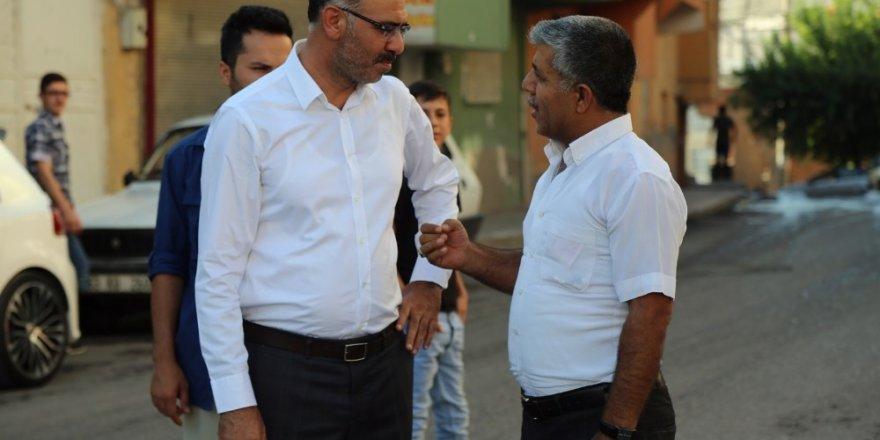 Belediye Başkanı Kuş, vatandaşlarla buluşmalarına devam ediyor