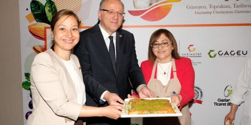 Gastroantep Festivali İstanbul'da tanıtıldı