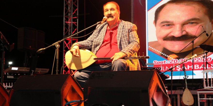 Konya'da Göl Festivali'nde Sevcan Orhan ve Hilmi Şahballı konser verdi