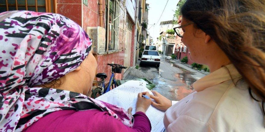 Osmangazi'den vatandaşa kapı kapı hizmet