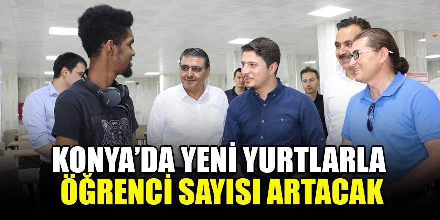Konya'da yeni yurtlarla öğrenci sayısı artacak