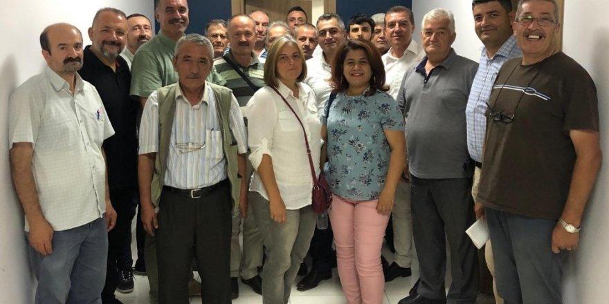 Bozüyük Dostları Derneği'nden Kent Konseyine ziyaret