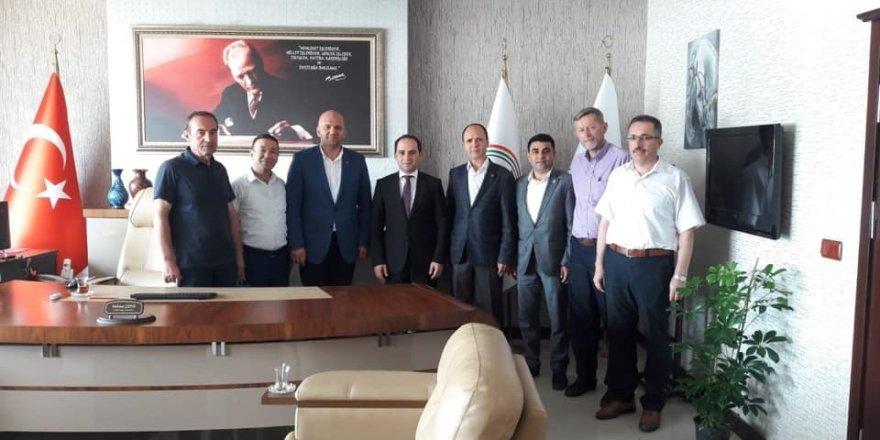 AK Parti İlçe Teşkilatı Başsavcı Çepni'yi ziyaret etti