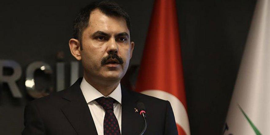 """Bakan Kurum'dan """"Kanal İstanbul"""" açıklaması"""